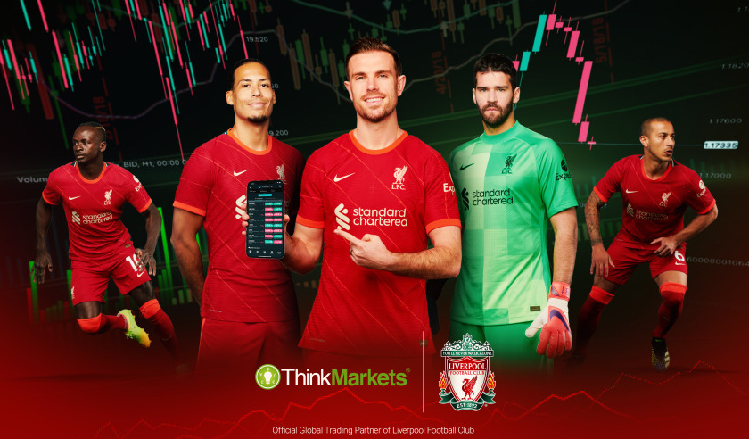 Liverpool FC signs ThinkMarkets as official global trading partner