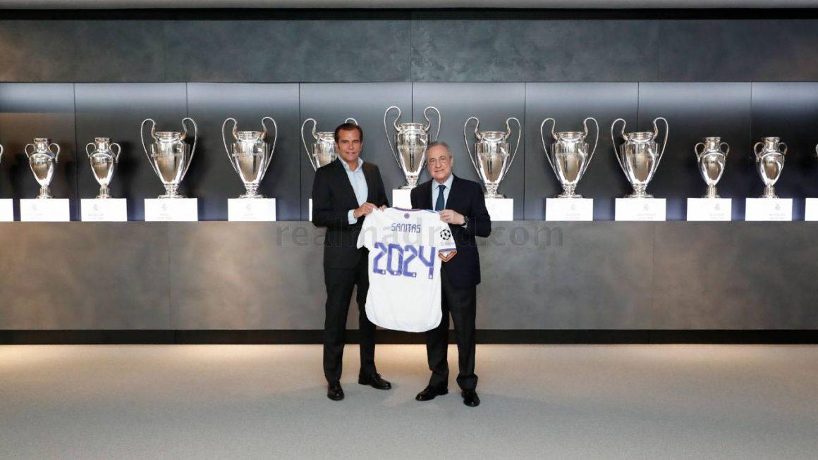 Real Madrid renews Sanitas partnership until 2024