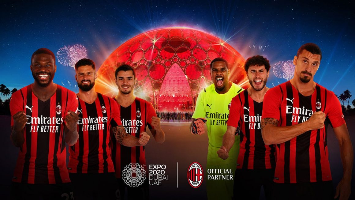 AC Milan signs partnership with Expo 2020 Dubai