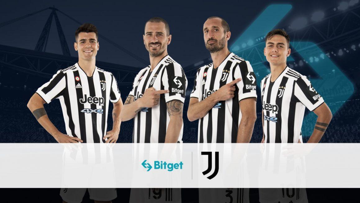 Juventus signs crytpocurrency platform Bitget as first sleeve partner