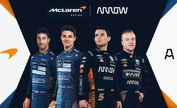 McLaren Racing extends partnership with Arrow Electronics